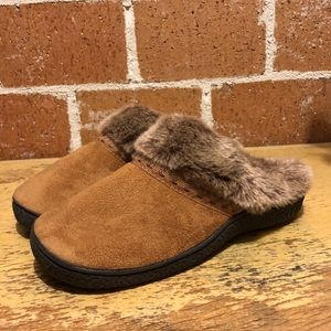 Brand new isotoner gel slippers size small 6.5-7